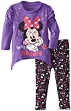 Disney Baby Baby-Girls Infant Disney's Minnie Girl Hearts Legging Set