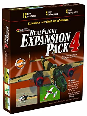Great Planes RealFlight G3 and Above Pack 4 Expansion