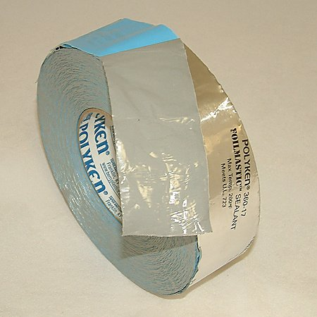 Nashua 360-17 FoilMastic Butyl Rubber Tape: 2 in. x 100 ft. (Silver)