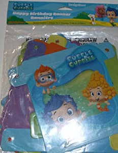 Bubble Guppies Happy Birthday Banner from Amscan
