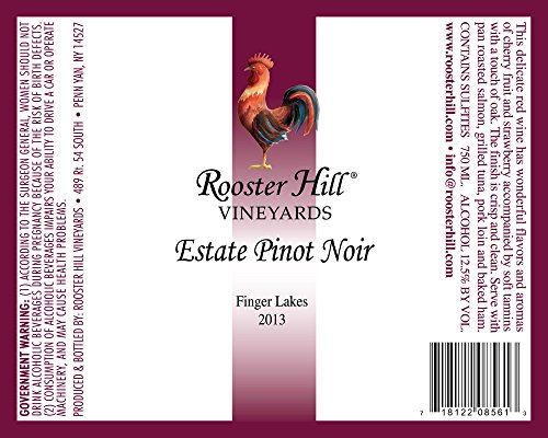 2013 Rooster Hill Vineyards Pinot Noir 750 Ml