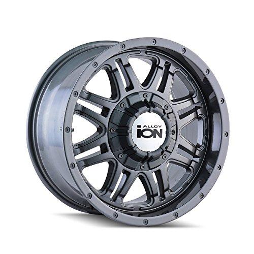 One ION 186 Gunmetal Wheel/Rim - 17x8 - 5x127 - +10mm (2001 Dodge Ram 1500 Rims compare prices)