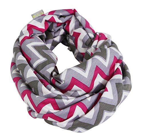 itzy-ritzy-sciarpa-ad-anello-per-lallattamento-rosa-pinkfarbener-kuss-zickzack