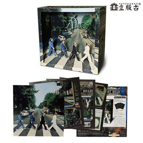 Beatles アビーロード 立版古(たてばんこ) <ペーパークラフト><手作り/工作> ビートルズ