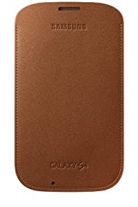 Samsung Pouch for Samsung Galaxy S4 - Camel