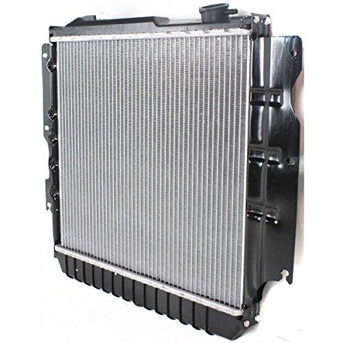 Diften-109-A0914-X01-New-Radiator-Aluminum-Core-Plastic-Tank-Jeep-Wrangler-TJ-2004-2003-2002