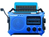Kaito Electronics Inc. KA500BLU Voyager Emergency Radio- Blue