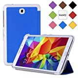WAWO Samsung Galaxy Tab 4 8.0 Inch Tablet Smart Cover Creative Fold Case - Blue