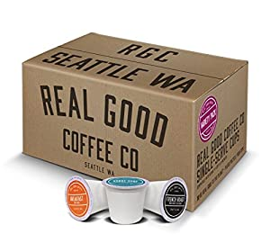 Real Good Coffee Co Recyclable K Cups from Real Good Coffee Company
