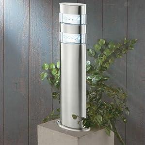 kiom 10039 led stand2 borne lumineuse d 39 ext rieur jardin. Black Bedroom Furniture Sets. Home Design Ideas