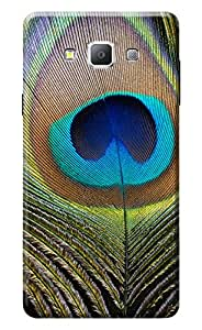 Samsung Galaxy A7 Cover, Premium Quality Designer Printed 3D Lightweight Slim Matte Finish Hard Case Back Cover for Samsung Galaxy A7 by Tamah
