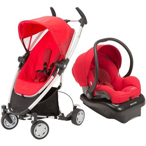 Quinny 2013 Zapp Xtra Travel System W/Mico Ap Car Seat, Red front-905977