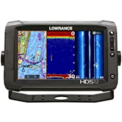Lowrance HDS-12 Gen2 Touch Insight 83 200 and LSS-2 Transom Mount Transducers by Lowrance