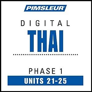 Thai Phase 1, Unit 21-25 Audiobook