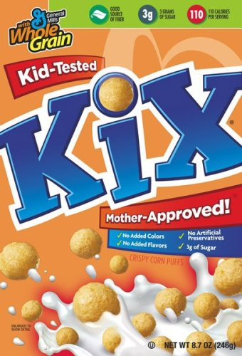 Buy Kix Cereal, 8.7-Ounce Box  (Pack of 6) (General Mills, Health & Personal Care, Products, Food & Snacks, Breakfast Foods, Cereals)