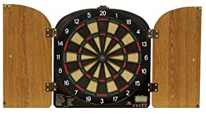 Arachnid DarTronic 400 Electronic Soft-tip Dart Game, Walnut Cabinet at Sears.com