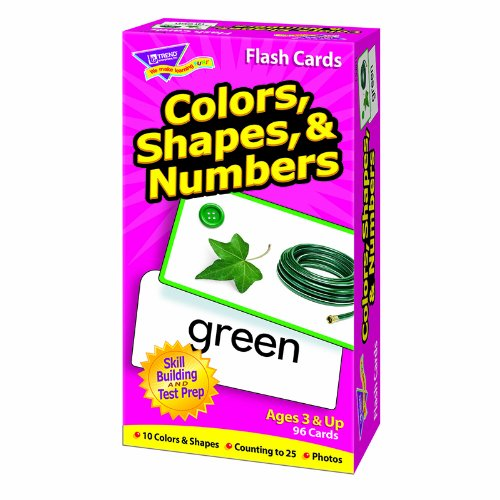 Colors, Shapes, and Numbers Skill Drill Flash Cards - 1