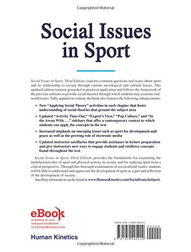 social issues in sport Fast forward to 2016, when local and national athletes interjected themselves  repeatedly into major social issues from protests of the national.