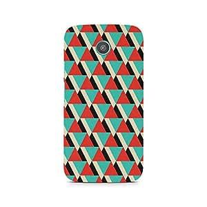 Ebby Tio Triangle Premium Printed Case For Moto G