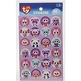 Darice Beanie Boos Girl Stickers (96 Pack)