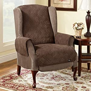 Pet Wingchair/Recliner Cover Color: Taupe