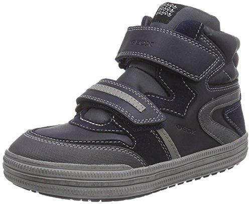 Geox Jr Elvis E, Sneaker, Ragazzo, Blu (Blau (C0661NAVY/GREY)), 32