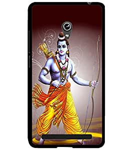 ColourCraft Lord Rama Design Back Case Cover for ASUS ZENFONE 6 A600CG
