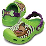 crocs 14047 SS13 Scobby-Doo Clog (Toddler/Little Kid),Volt Green/Dahlia,6 M US Toddler