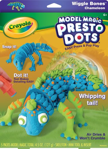 Crayola Model Magic Presto Benders Chameleon - 1