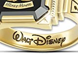 Mickey Mouse 1928 Commemorative Retro-Style Ring With Wooden Collector's Case