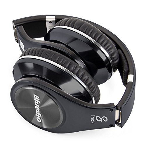 Bluedio R+ Legend Deep Bass Bluetooth Wireless Headphones with Mic & Micro SD Card Slot(Titanium)