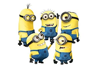 Eplayer 174 despicable me minion wall decal sticker for home bedroom