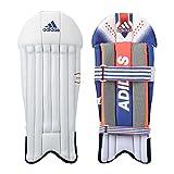 adidas Cx 11 16 Wicket Keeper Pads, Men's Medium (White)