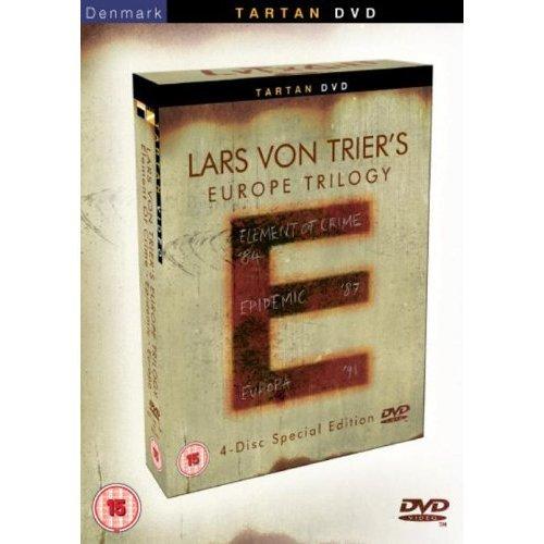 Lars Von Trier Europe Trilogy - 4-Dvd Box Set ( Lars Von Trier's Europe Trilogy: Element Of Crime / Epidemic / Europa ) ( Forbrydelsens Element / [ Non-Usa Format, Pal, Reg.0 Import - United Kingdom ]