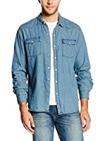 Levi's Camisa Vaquera Denim Western (Denim)