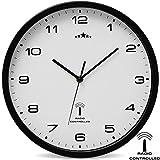 Wanduhr Funkuhr Quarz Funkwanduhr Analog Uhr 31cm...