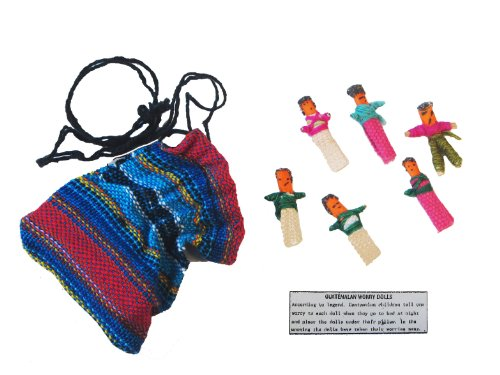 Worry Dolls in a Bag - 1