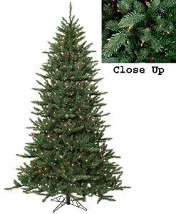 9' Pre-Lit Natural Frasier Fir Artificial Christmas Tree - Multi Lights
