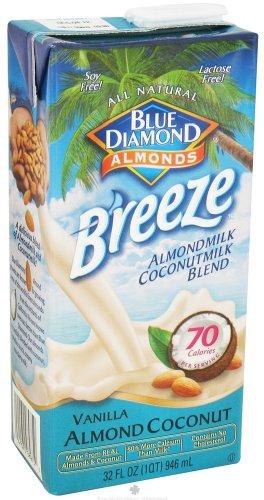 Blue Diamond Growers - Breeze Almond Milk Vanilla Almond Coconut - 32 Oz.