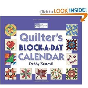 Quilter's Block-a-day Perpetual Calendar Deb|||Kratovil