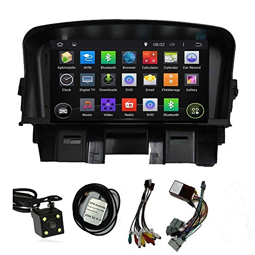 Android 5.1 Lollipop Car Stereo Radio Head Unit GPS Navigation DVD Player for Chevrolet Cruze 2011 2012 2013 2014 2015 (Chevy Cruze Gps compare prices)