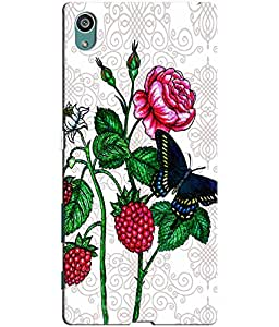 Clarks Printed Back Cover/Case For Sony Xperia Z5 Premium