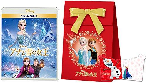 【期間限定商品】アナと雪の女王 MovieNEX [ブルーレイ+DVD+デジタルコピー(クラウド対応)+MovieNEXワールド](「アナと雪の女王」オリジナル ギフトバッグ付) [Blu-ray]