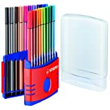 Stabilo 6820-03 68 ColorParade Fibre-Tipped Pen Set with 20 Pensby Stabilo