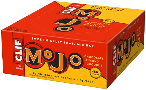 Mojo Bar Chocolate Almond Coconut, 1.59-Ounce Bars, 12 Count