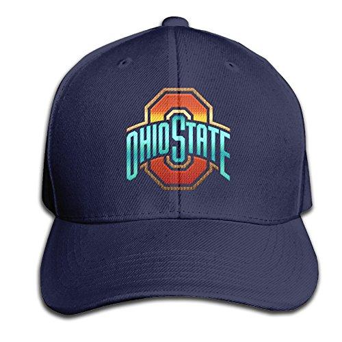 adjustable-2013-ohio-state-buckeyes-cotton-plain-navy-peak-baseball-capsnapback-cap-for-adult