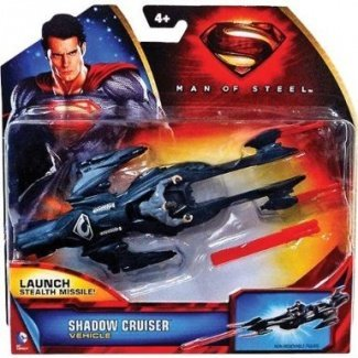 Superman Man Of Steel General Zod Shadow Cruiser Vehicle