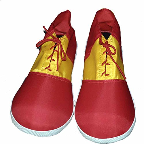 Red and Yellow Child Clown Shoes