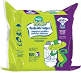 Pampers Kandoo Flushable Wipes, Magic Melon Scent, 100 Count Refills (Pack Of 6)