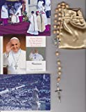 Saint Agatha Relic Rosary Blessed by Pope Francis on 3/19/2013 at Inauguration Mass Patron of Breast Cancer 21